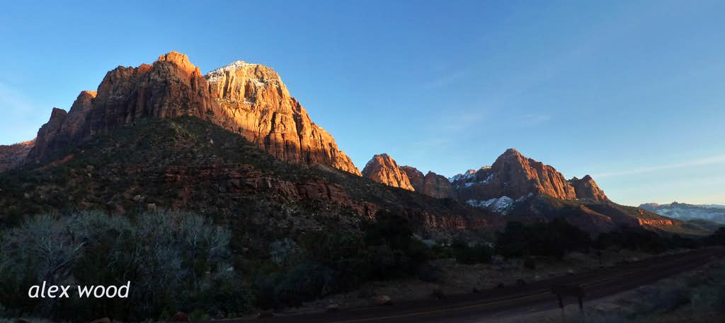 Sunset Inside the Canyon