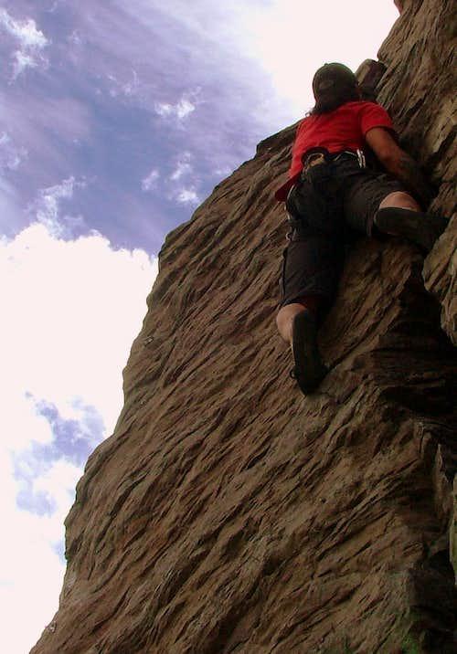 Easy climb.