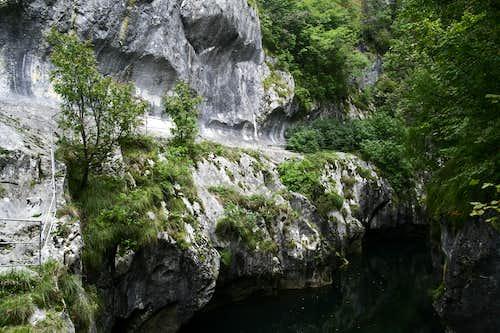 Corcoaia Gorge