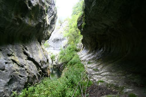 View from Corcoaia Gorge
