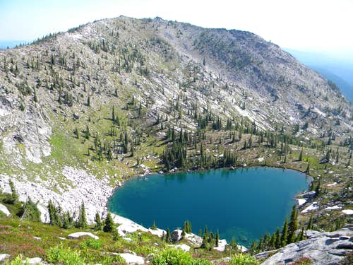 An Unnamed Mountain Over an Unnamed Lake