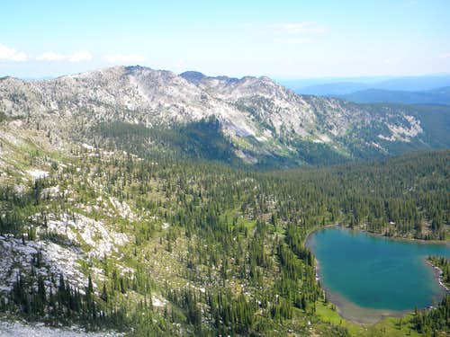 Peak 8,042 and Colt Lake