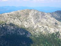 South Aspect of Unnamed Peak 8,042