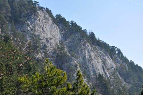 Naglplatten - Hohe Wand