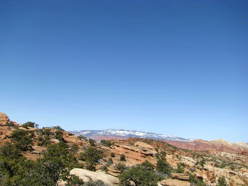 From Capitol Reef