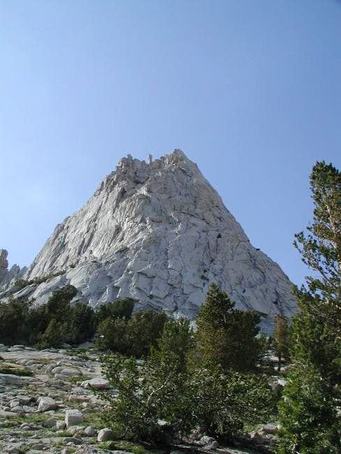 South face of Cathedral Peak