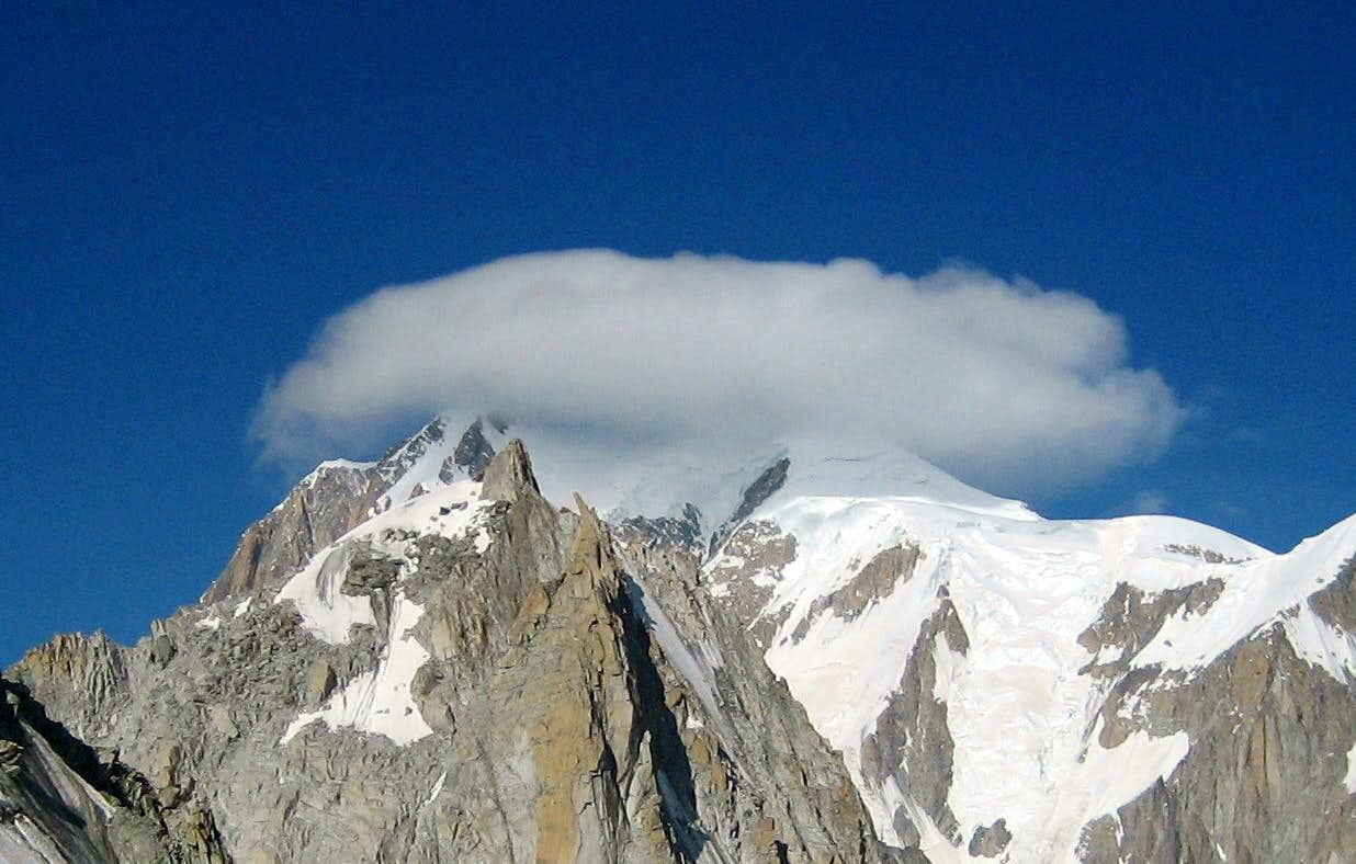 The mighty Mont Blanc - in his majesty