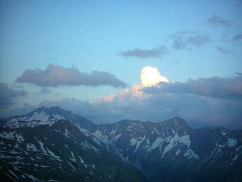 The Hochalm Spitze sunset...