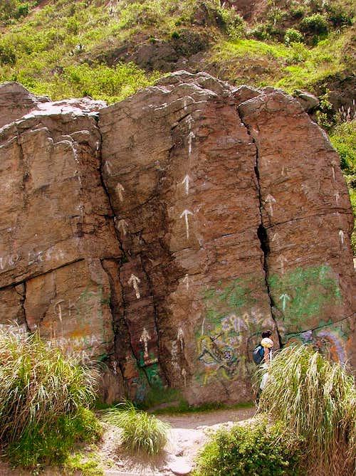 Las Canteras lower slabs.