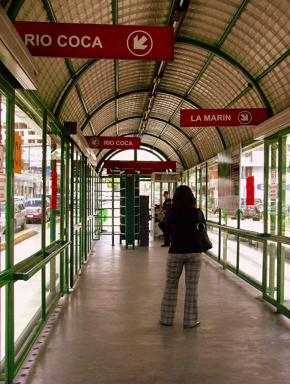 Ecovia Station.