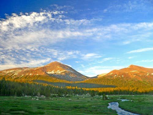 Mt. Dana and Mt. Gibbs