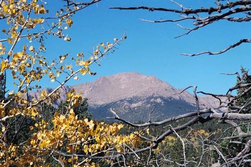 Picture taken of Pikes Peak...