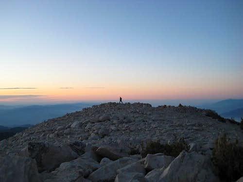 Sunrise from San Gorgonio Summit