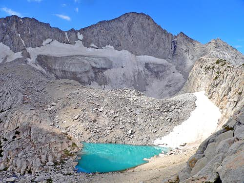 Mt. Conness and Upper Conness Lake