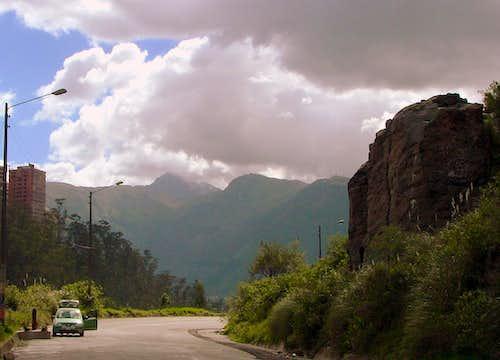 View of Las Canteras.