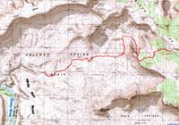 Map of Wilhite Trail