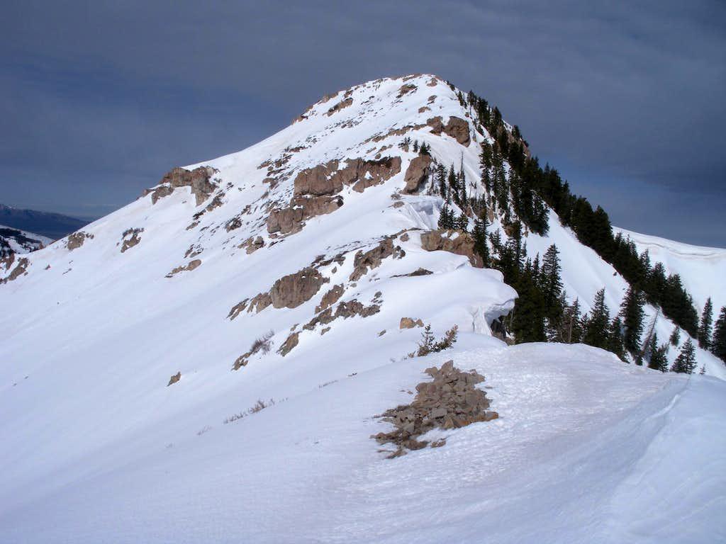 East ridge at base