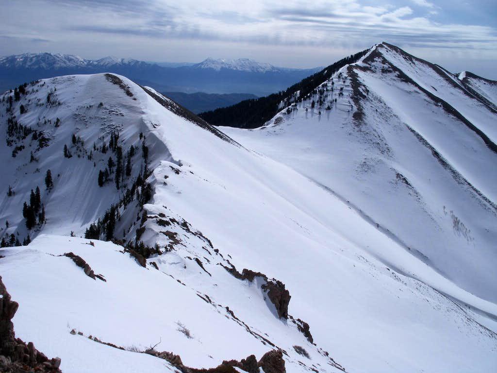 View of Lowe Peak