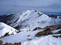 View north to Kelsey Peak