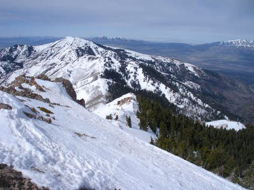 View to Bald Mountain East