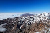 Looking west from the summit of Jbel Toubkal