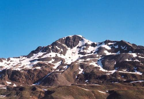 Kreuzspitze seen from...