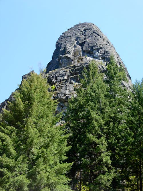 Castle Rock On Tumwater Mountain
