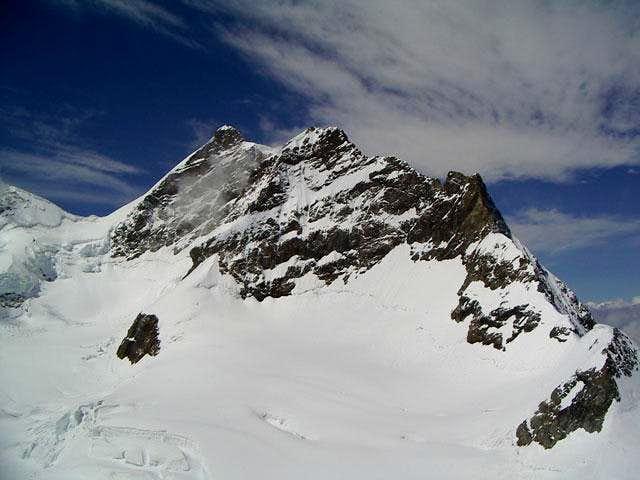 Jungfrau, 4.158m, seen from...