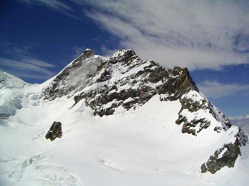 Jungfrau, 4.158m, seen from...