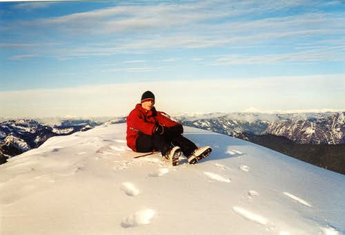 Sitting on the summit