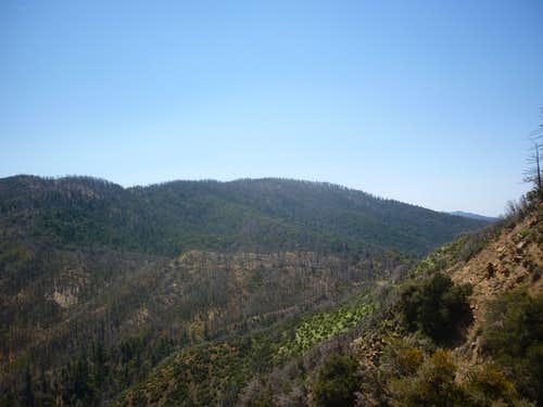 East side of Big Pine Mountain