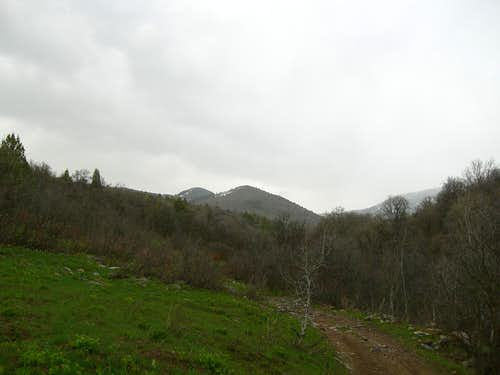 Sugar Creek Mountain and the Trail