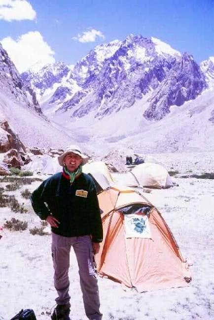 Base Camp in Kulakmali area...