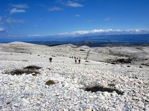 Obzova summit view...