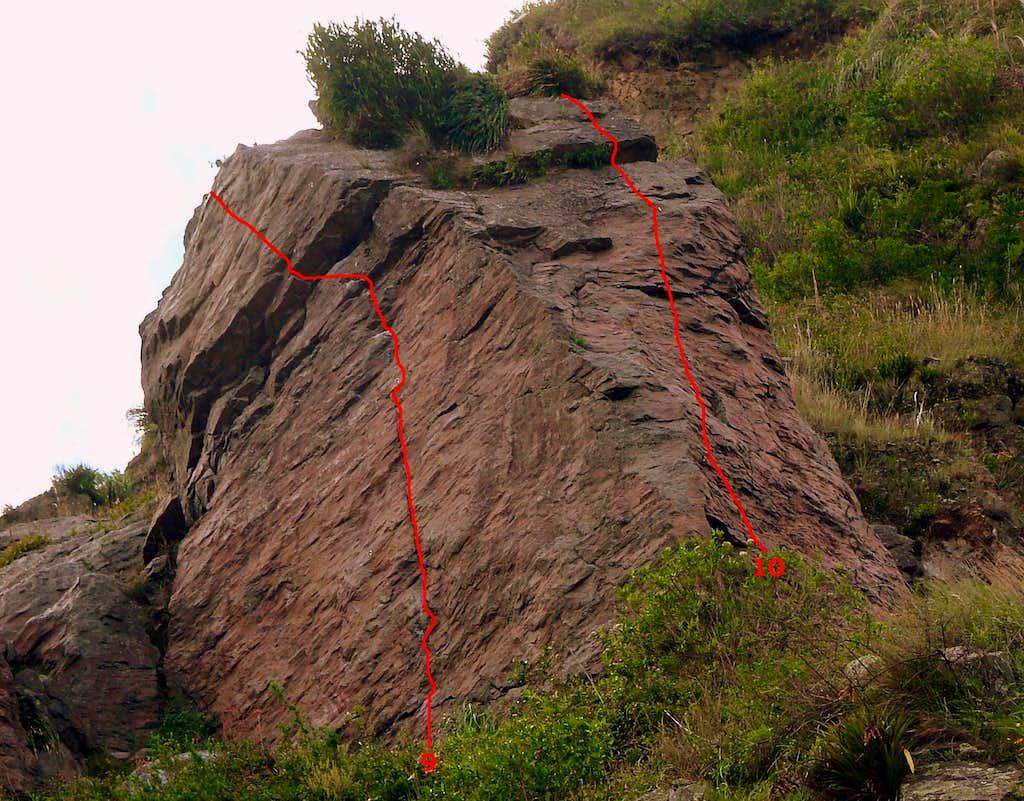 Upper slab. Crag 2.
