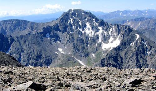 North Arapaho Peak viewed...