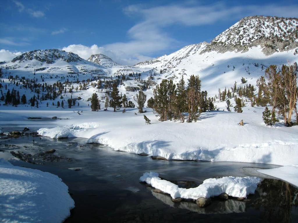 Grouse Lake and Goat Crest