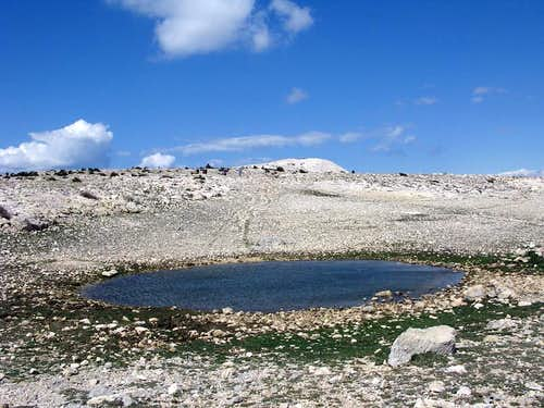 One of the many karst pools...