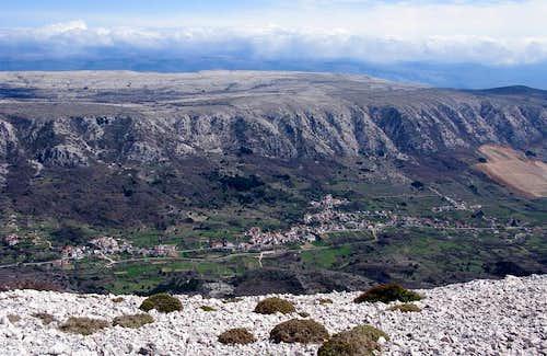 Nice view from Zminja peak...