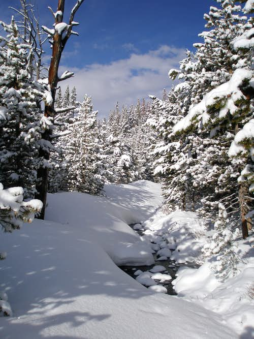 Joulious Creek Ski Route