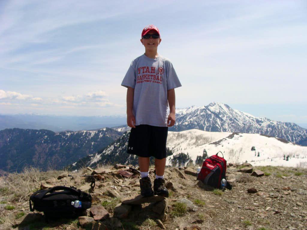 Summit Eyrie Peak