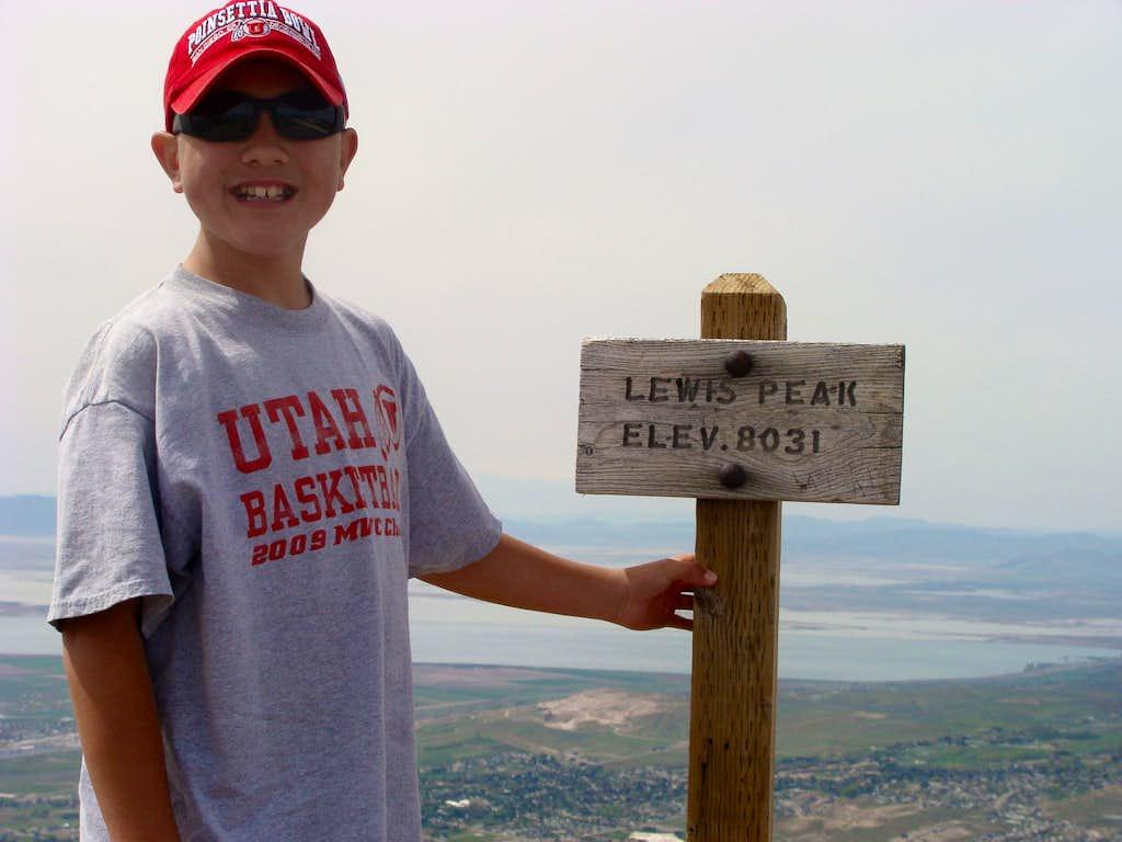 Lewis Peak Summit