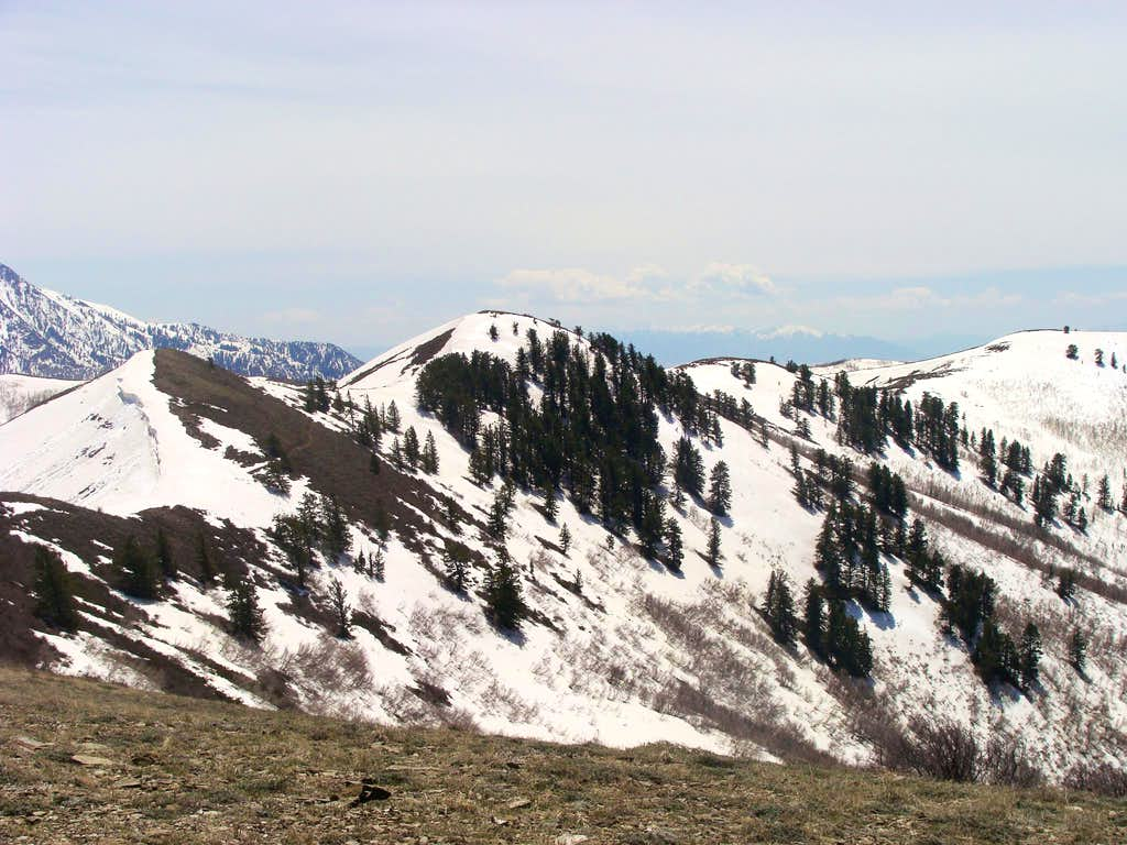 Eyrie Peak from the summit of 8110