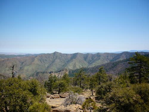 Samon Peak spur ridge