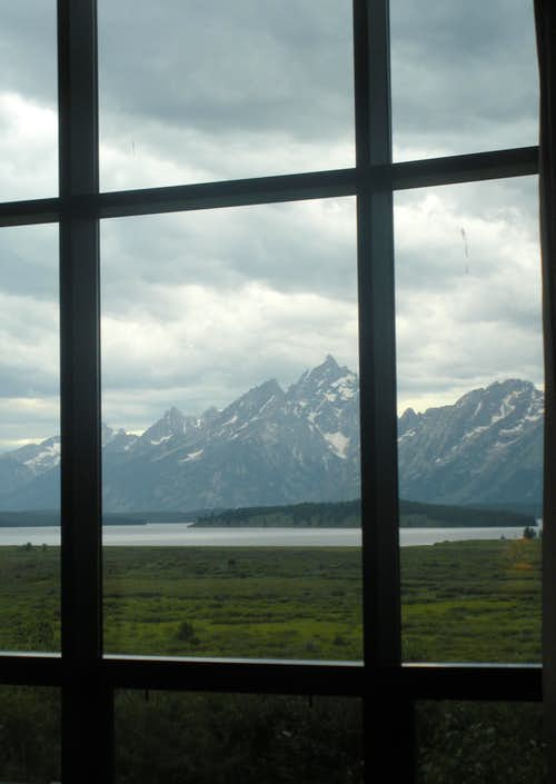 Grand Teton from Lodge