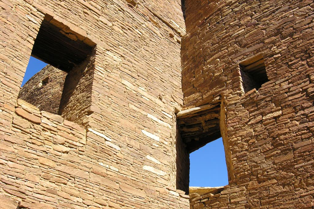 windows at chaco canyon