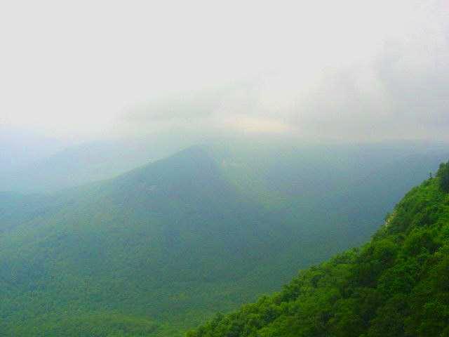 Summit view toward NC.