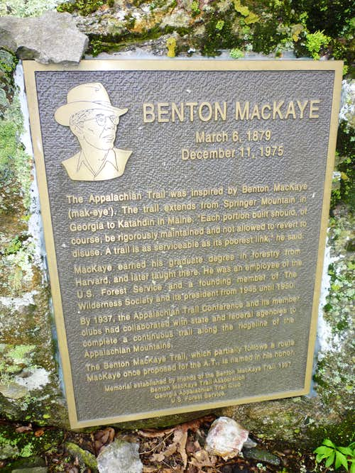 Benton MacKaye memorial