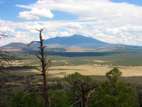 Humphrey's Peak from Slate...