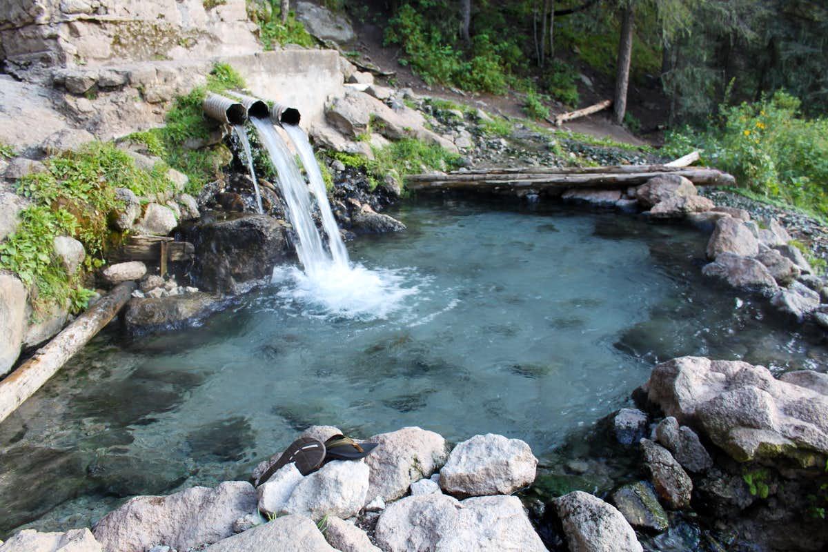 Sock Monkey Trekkers: San Antonio Hot Springs, New Mexico